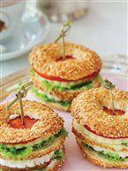 Simit sandviç(breakfast)