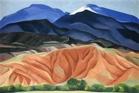 Black Mesa Landscape, New Mexico - Out Back of Mary`s II - Georgia O'Keeffe