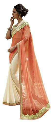 Mayloz Chiffon & Crepe Jacquard Embellished Saree Sari M3... https://www.amazon.com/dp/B0166YUYPY/ref=cm_sw_r_pi_dp_OyWBxbRXXW71Q