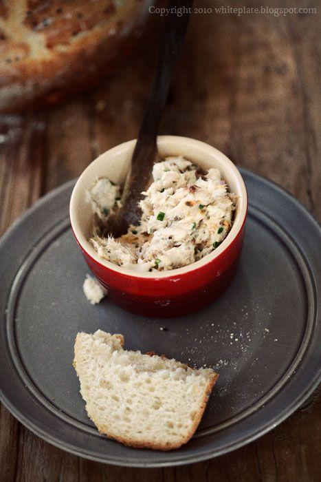 White Plate: Pochwała prostoty: Pasta do chleba.