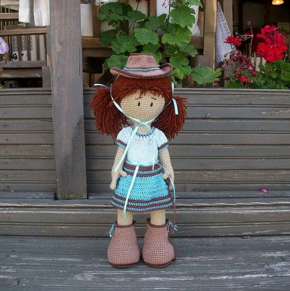 Hey, diesen tollen Etsy-Artikel fand ich bei http://www.etsy.com/de/listing/159160327/cowgirl-crocheted-doll-crocheted-toy