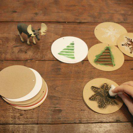M s de 1000 ideas sobre papel de kraft en pinterest - Decoracion navidad papel ...