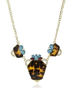 81% OFF Sparkling Sage Purse Pull Tortoise Pendant Necklace
