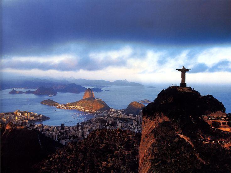 Christ statue and Sugarloaf, Rio de Janiero, Brazil