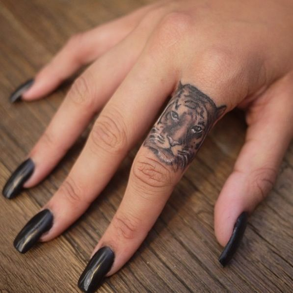 Want. So bad. But I recently learned finger tattoos fade really quickly
