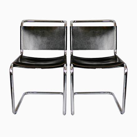 B33 Stühle Von Marcel Breuer Für Gavina, 1950er, 2er Set Jetzt Bestellen  Unter: Https://moebel.ladendirekt.de/kueche Und Esszimmer/stuehle Und Hocker/  ...