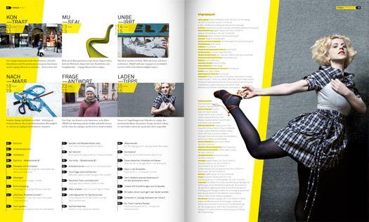 Frohe Zukunft Export - Kreuzer Chique Shopping Guide 2010
