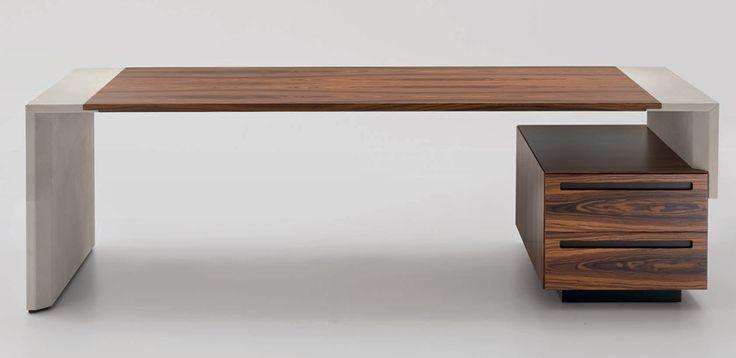 Crossing Classic Desk by i4Mariani, Designer Luca Scacchetti
