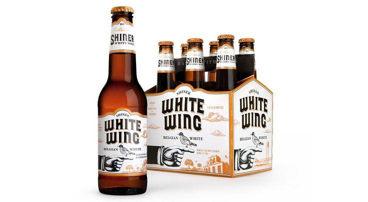 Shiner White Wing Packaging | McGarrah Jessee