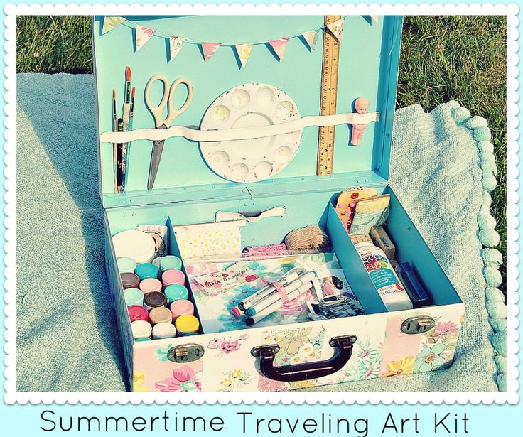 Everyday is a Holiday: Summertime Traveling Art Kit (DIY)