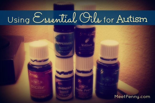 Autism: Peace and Calming rotate with Grounding; Lavender, Brain Power, Vetiver, Clarity, Cedarwood, Frankincense