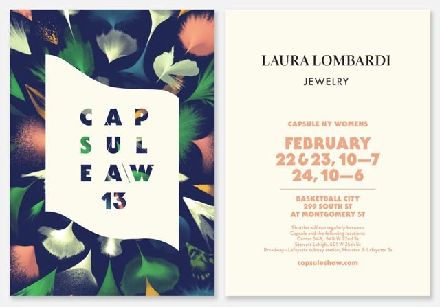 lauralombardi:  Gearing up for Capsule NYC! Register to attend at capsuleshow.com