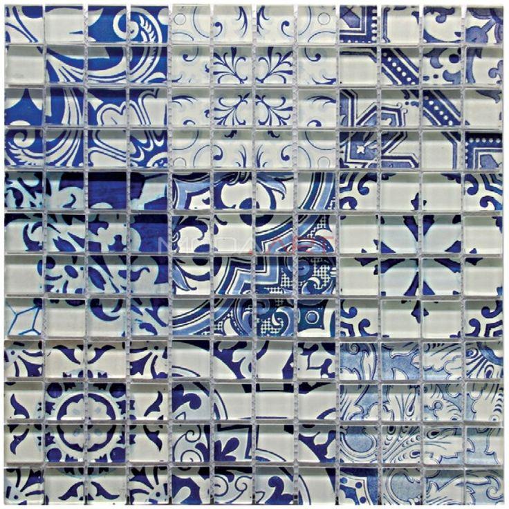 Casual 20 Modaarts Mosaic  Kristal Cam Mozaikler