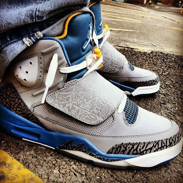 Nike Jordan J2K VII Patchwork Sz US 9 Free Shipping http://www.