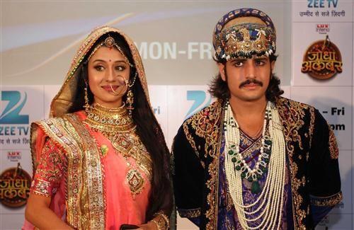 Rajat Tokas and Paridhi Sharma TV Serial Jodha Akbar Star Cast HD Photos