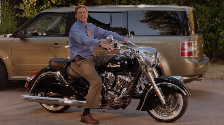 Indian Chief (2014) motorcycle in DADDY'S HOME (2015) #Indian