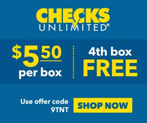 Checks Unlimited Coupon Code Use the #couponcode to order cheap designer checks online - checks to match your status & personality #checksunlimited
