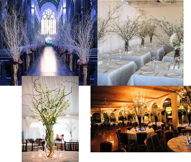 Branches   Cheap And Simple Decor. Wedding Centerpieces ...