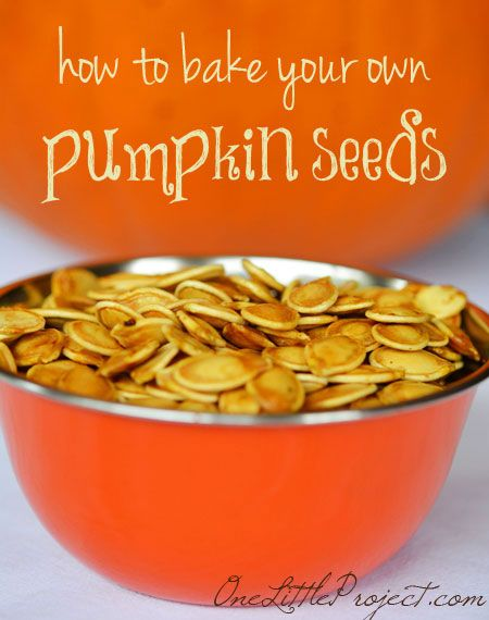 Here's a great recipe and some important tips about how to bake pumpkin seeds. Freshly roasted pumpkin seeds are healthy, delicious and kids love them! #Halloween #HealthyEating #CleanEating #ShermanFinancialGroup