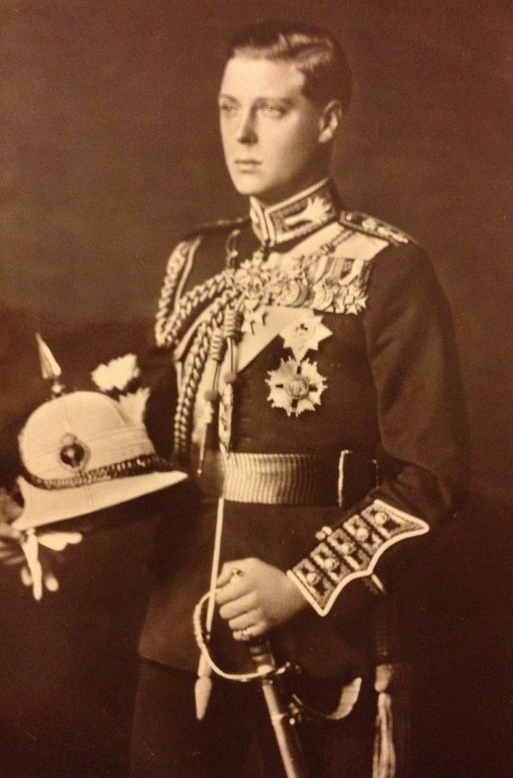 Wearing welsh guards uniform on a far east tour