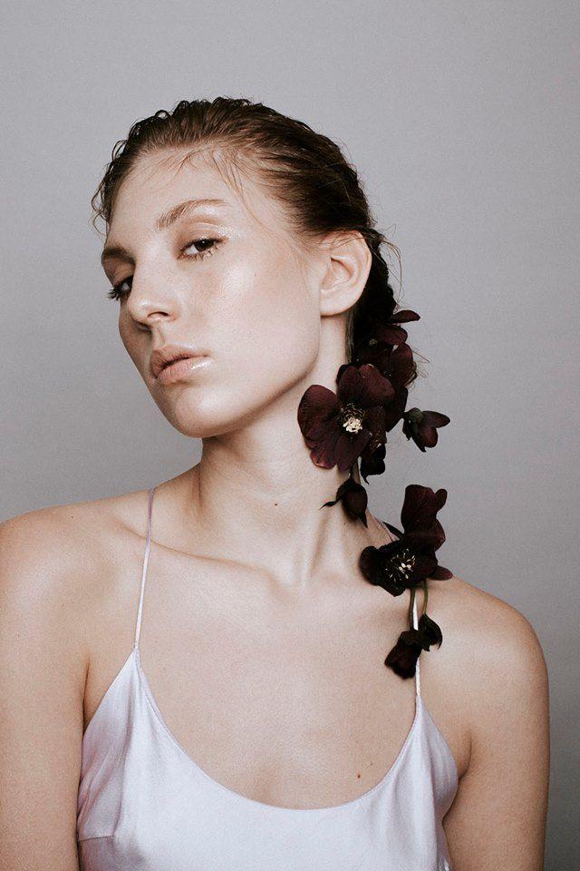 Nora Sarman Candie silk dress  / make up Sara Skrionya / photo Pinewood Weddings / Nora Sarman