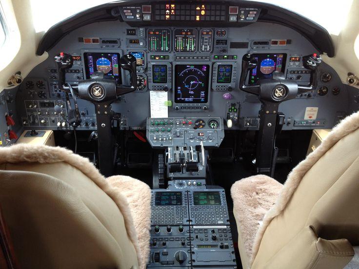 Cessna Citation Excel Cockpit Instrument Panel CE-560 jet ...