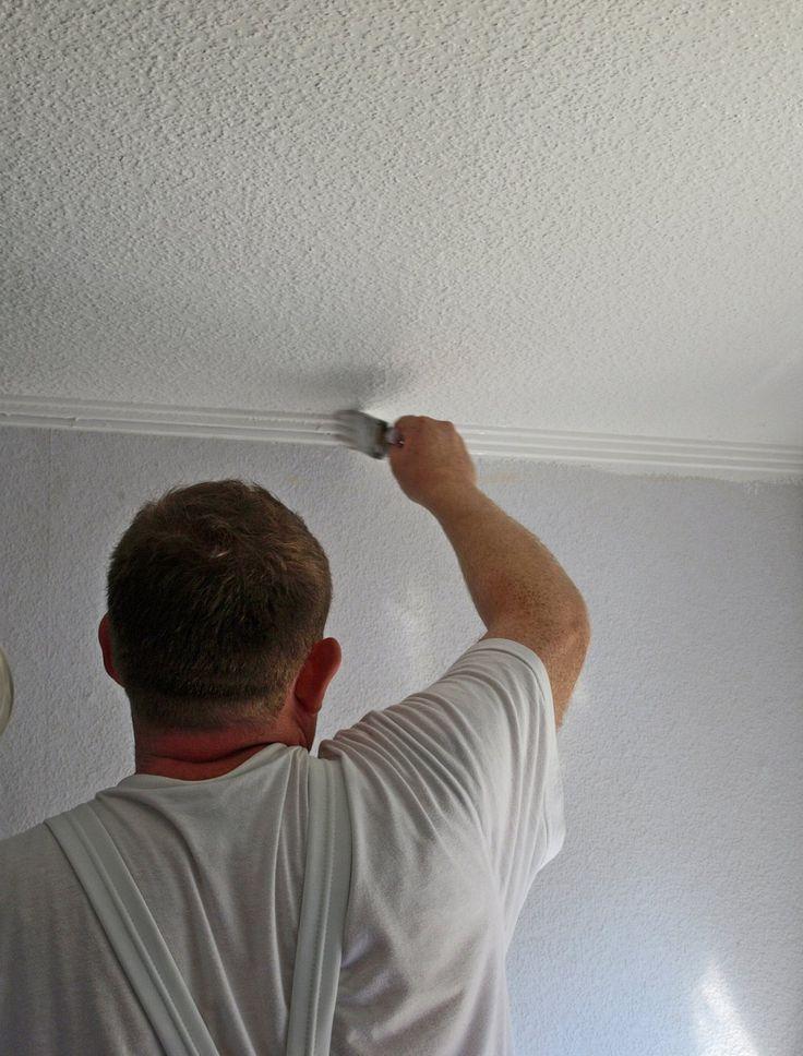 Wohnung Streichen Erst Decke : decke streichen decke streichen beachten renovieren punkte streifen