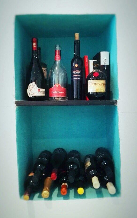 Niche for wine - Genova Boccadasse interior Domus Nova Design