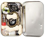 PART 1-----Make a Survival Kit out of an Altoids Tin------see part 2 for some fun