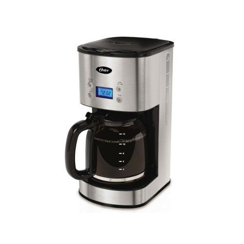 Oster 12Cup Programmable Coffee Maker BVSTJBXSS41  Stainless Steel by Oster -- Find out more about the great product at the image link.Note:It is affiliate link to Amazon.