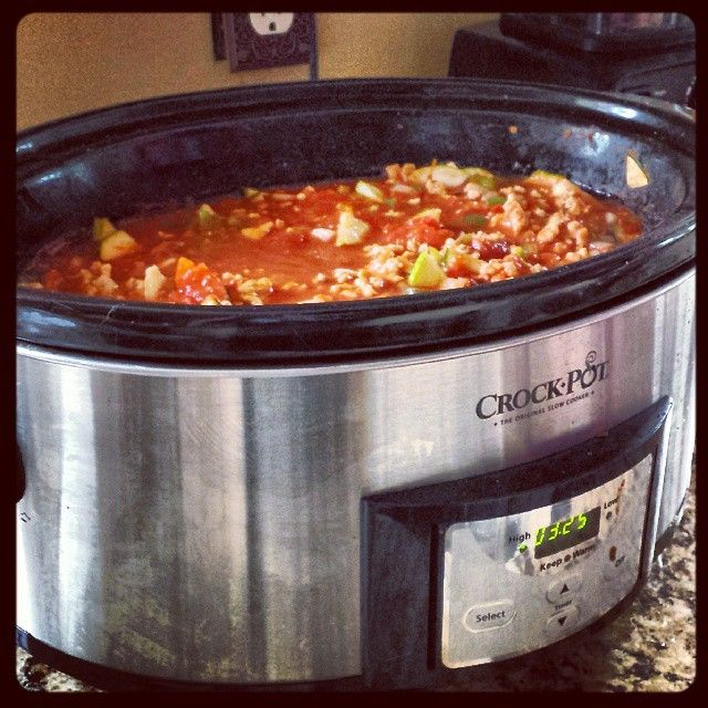 Low-Carb Crockpot Chicken Chili