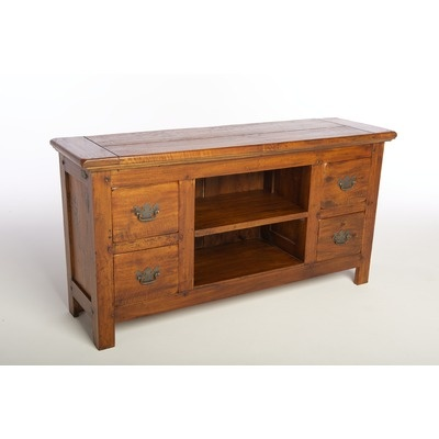 Ancient Mariner East Indies Four Drawer Low TV Unit | Wayfair UK (£395)
