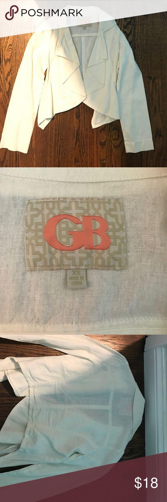 Gianni Bini linen cardigan Gianni Bini linen cardigan. Excellent condition Gianni Bini Sweaters Shrugs & Ponchos
