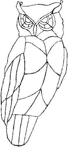 Owl pattern #applique idea