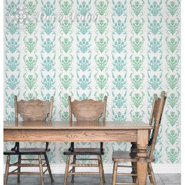 our stencils, vintage paint roller pattern - Isabelle
