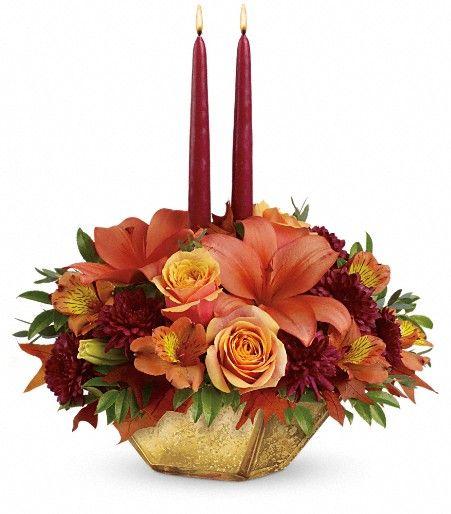 Ftd teleflora fall arrangements for a thanksgiving