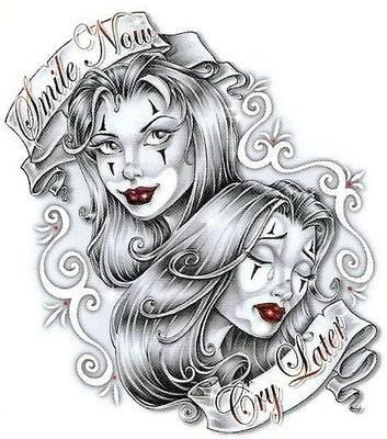 Teen Angel Arte Magazine | Chicano Tattoos on Tattoos Crosses Tattoos Tatoo Tribal Hand Henna ...