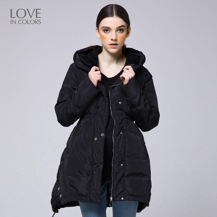 New Fashion Pregnant Women Down Jackets Warm Winter Waist Soft White Duck Dowm Maternity Pregnancy Lady Coats