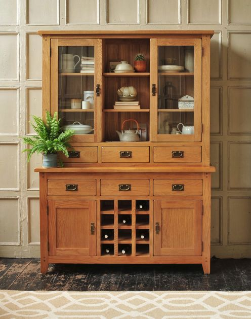 THE INSIDERCASSIE PRYCE Oak DresserKitchen DiningWooden FurnitureDining Room