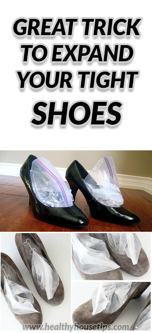 GREAT TRICK TO EXPAND YOUR TIGHT SHOES