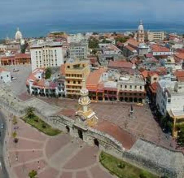 Torre del Reloj, Plaza de la Aduana. Cartagena, Cartagena