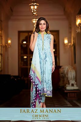 Faraz Manan Crescent Lawn Collection