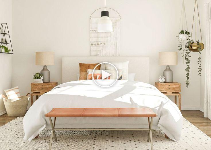 7 Idees De Chambres Modernes Au Milieu Du Siecle A Essayer Dans Votre Espace Idee Chambre Chambre Moderne Renovation De Chambre
