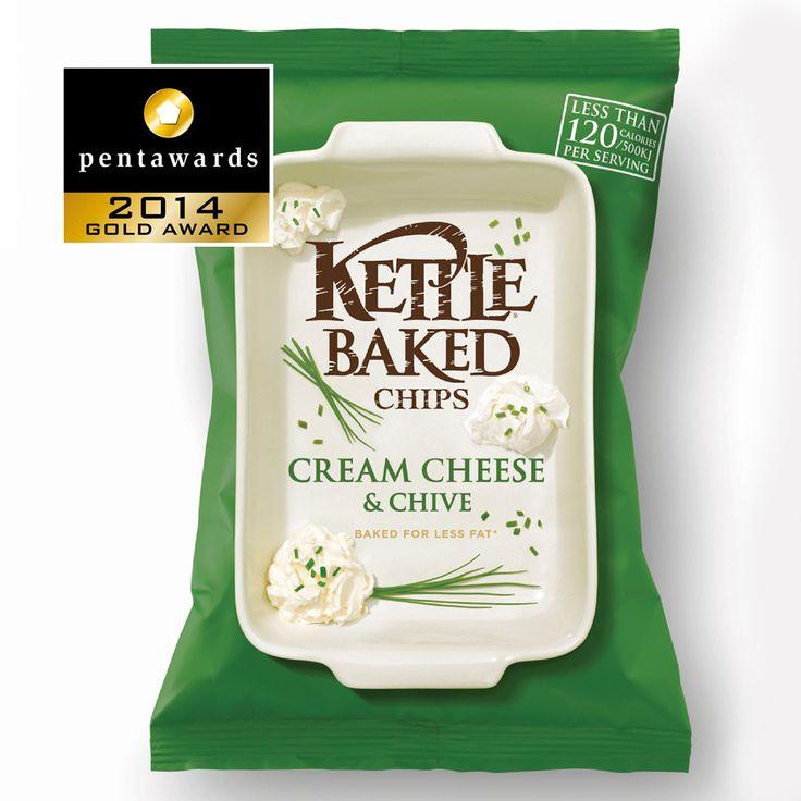 Gold Pentaward 2014 Food - Savoury snacks Brand: Kettle Baked Chips Entrant: Turner Duckworth: London & San Francisco Country: UNITED KINGDOM and USA