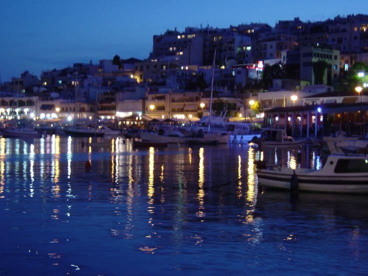 Piraeus at Night by wesbaker.deviantart.com on @DeviantArt