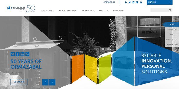 Nuevo diseño responsive de la página web  El principal objetivo de esta mejora es ofrecer una mejor experiencia con nuestra página web mediante un diseño más accesible y atractivo que se adapte al dispositivo con el que estés accediendo a la misma: ordenador de escritorio, portátil, tableta, teléfono móvil…
