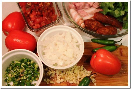 Mexico in my Kitchen: How to Make Charro Beans Soup /Receta de Frijoles a la Charra o Frijoles Charros