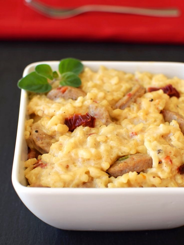 Risotto just got a whole lot easier and more delish! Creamy Dairy-Free Baked Risotto (Italian-Style)Gluten Free Easily