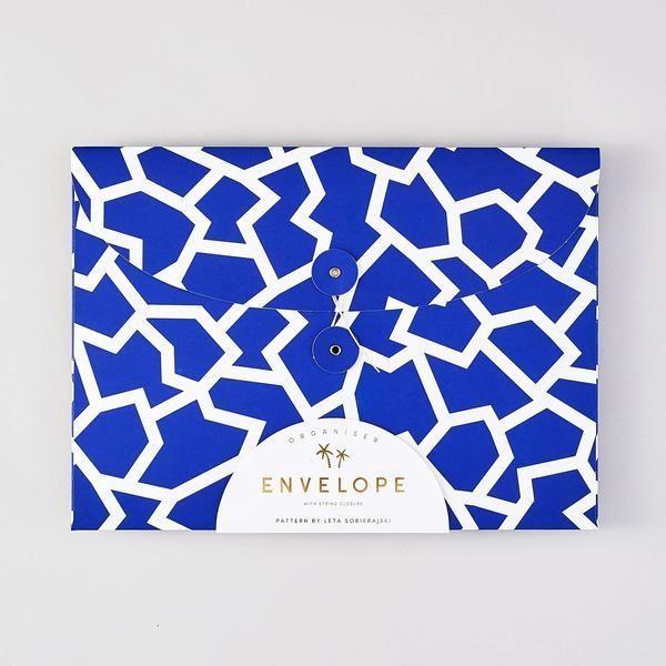 Folder Envelope : Blue - Baltic Club www.thebalticclub.com