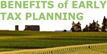 Learn the benefits of early tax planning
